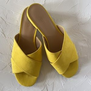 Host Pick! Expression Kayla Yellow Sandals